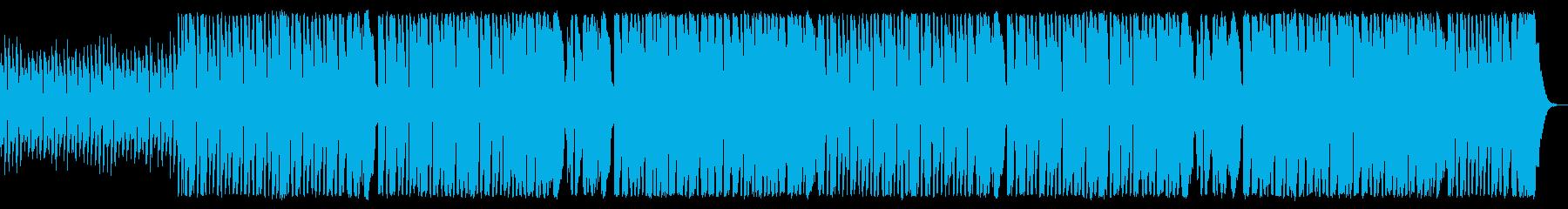 コミカルで落ち着きのないワルツ調フルートの再生済みの波形