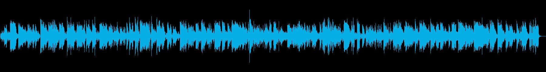 オシャレなJAZZ+BOSSA バラードの再生済みの波形