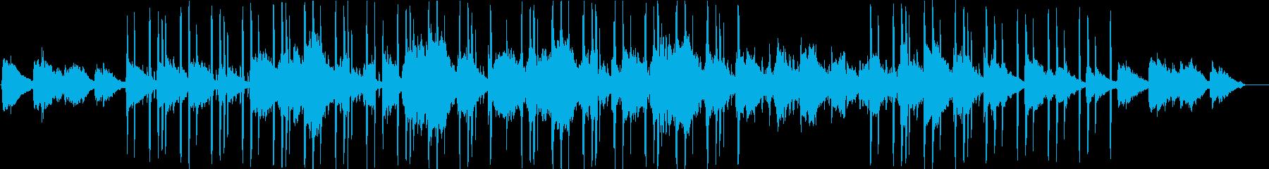 昭和感漂うHipHopの再生済みの波形