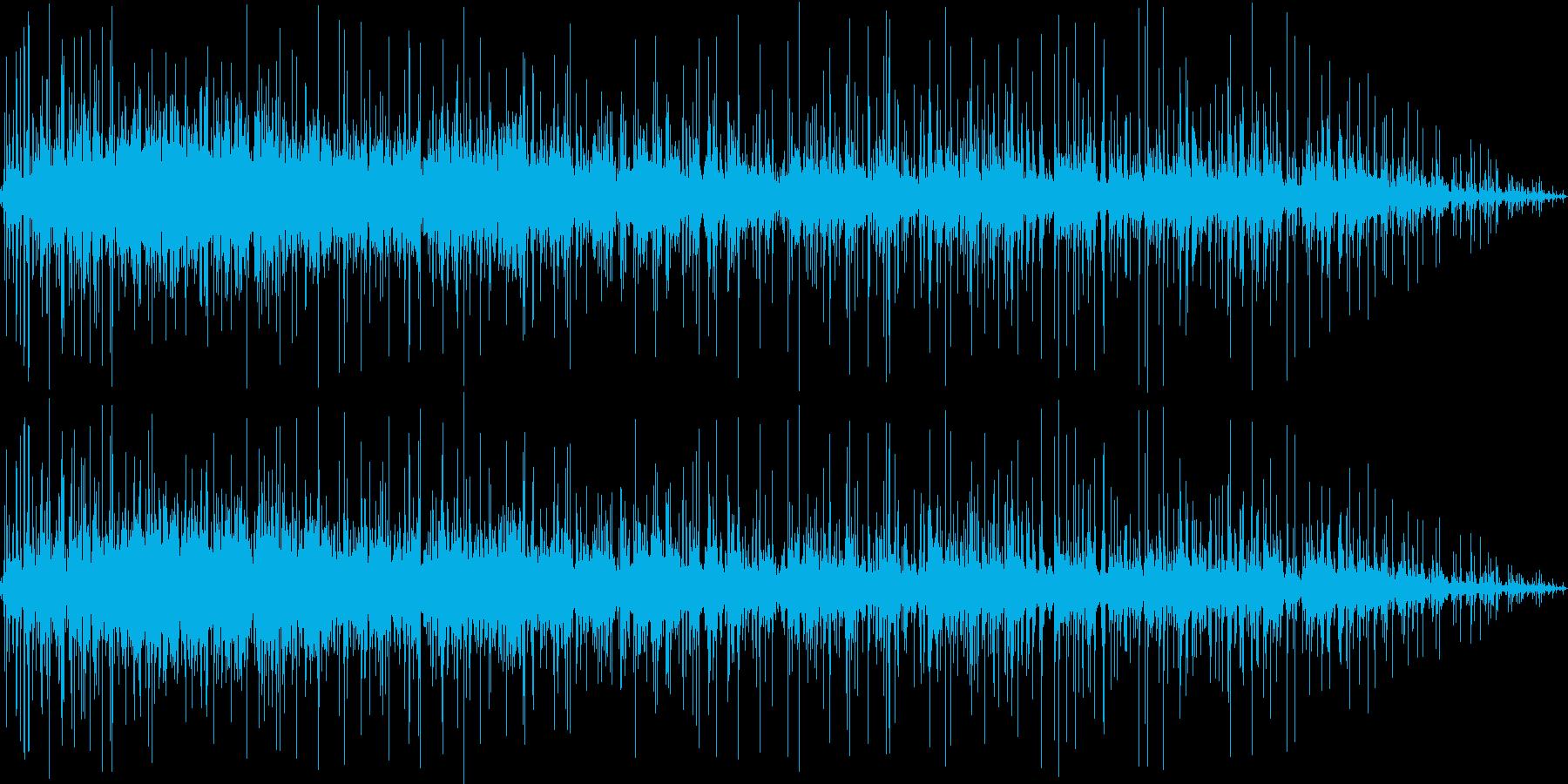 マージャン ジャラジャラ 洗牌音の再生済みの波形