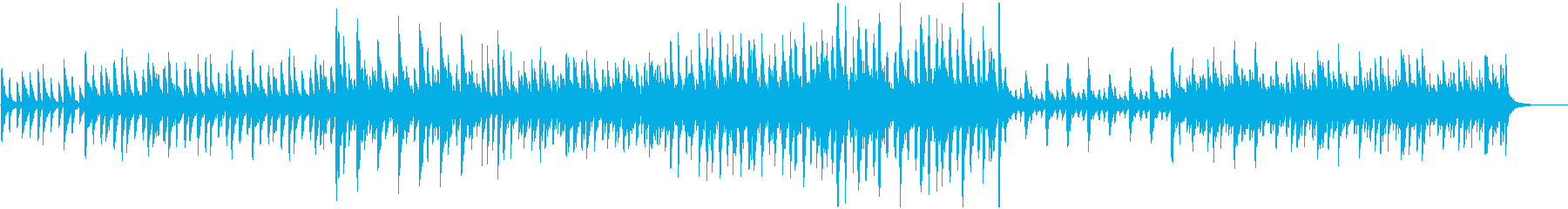 マリンバ、カリンバ、ストリングス、...の再生済みの波形