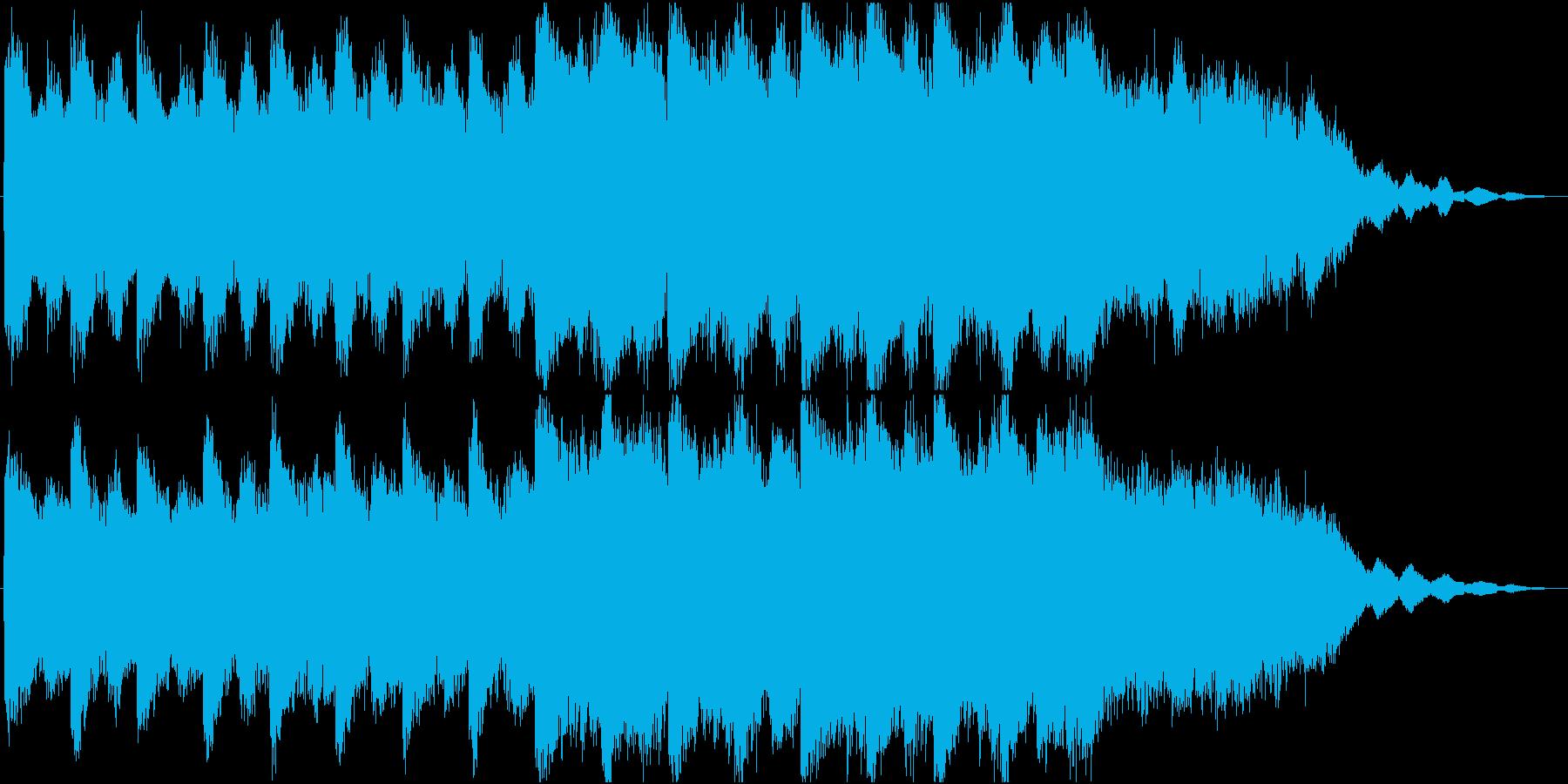 女性&クワイア ヒーリングミュージックの再生済みの波形