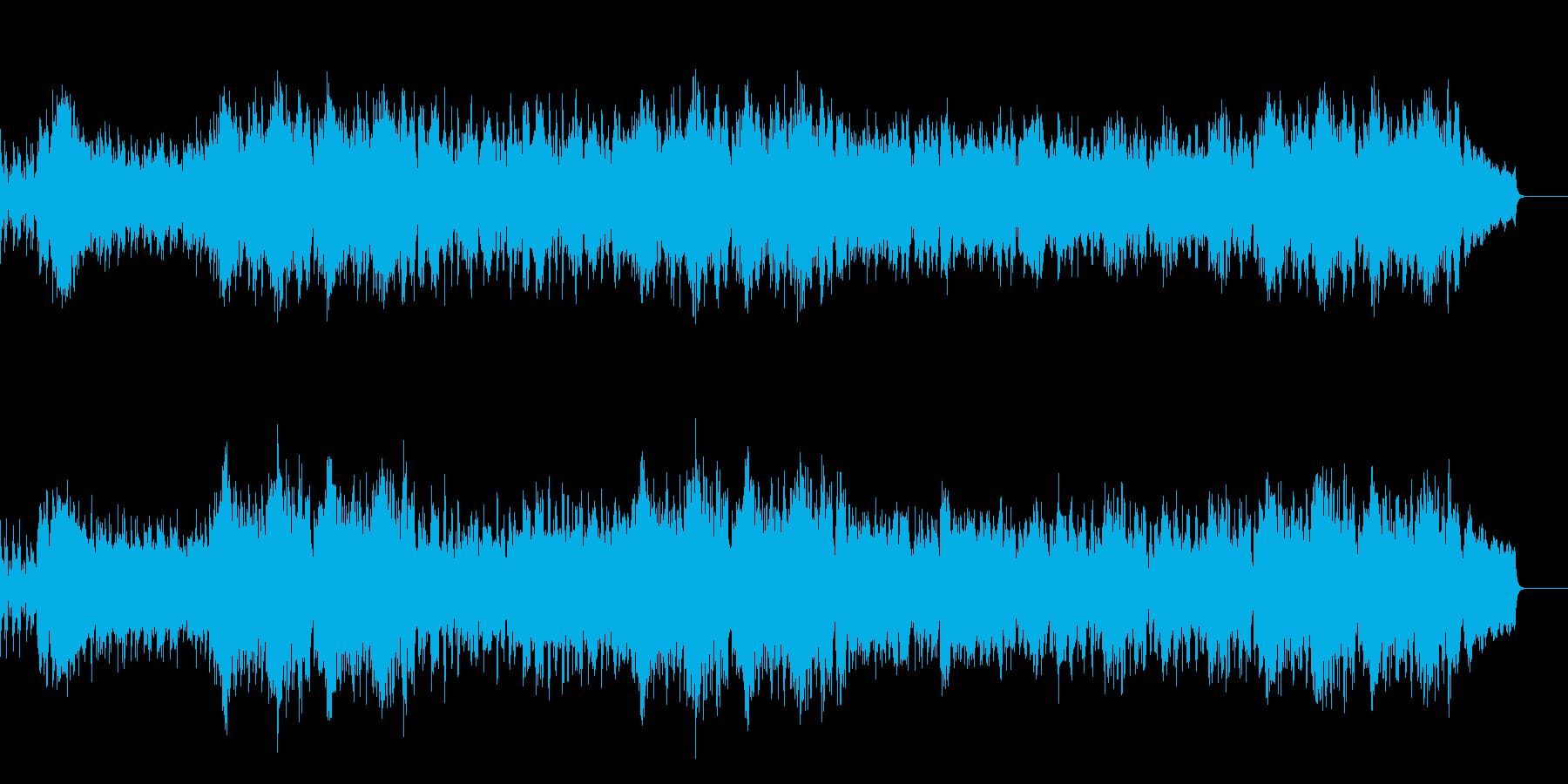 爽やかで楽しいケルト・アイリッシュ音楽の再生済みの波形