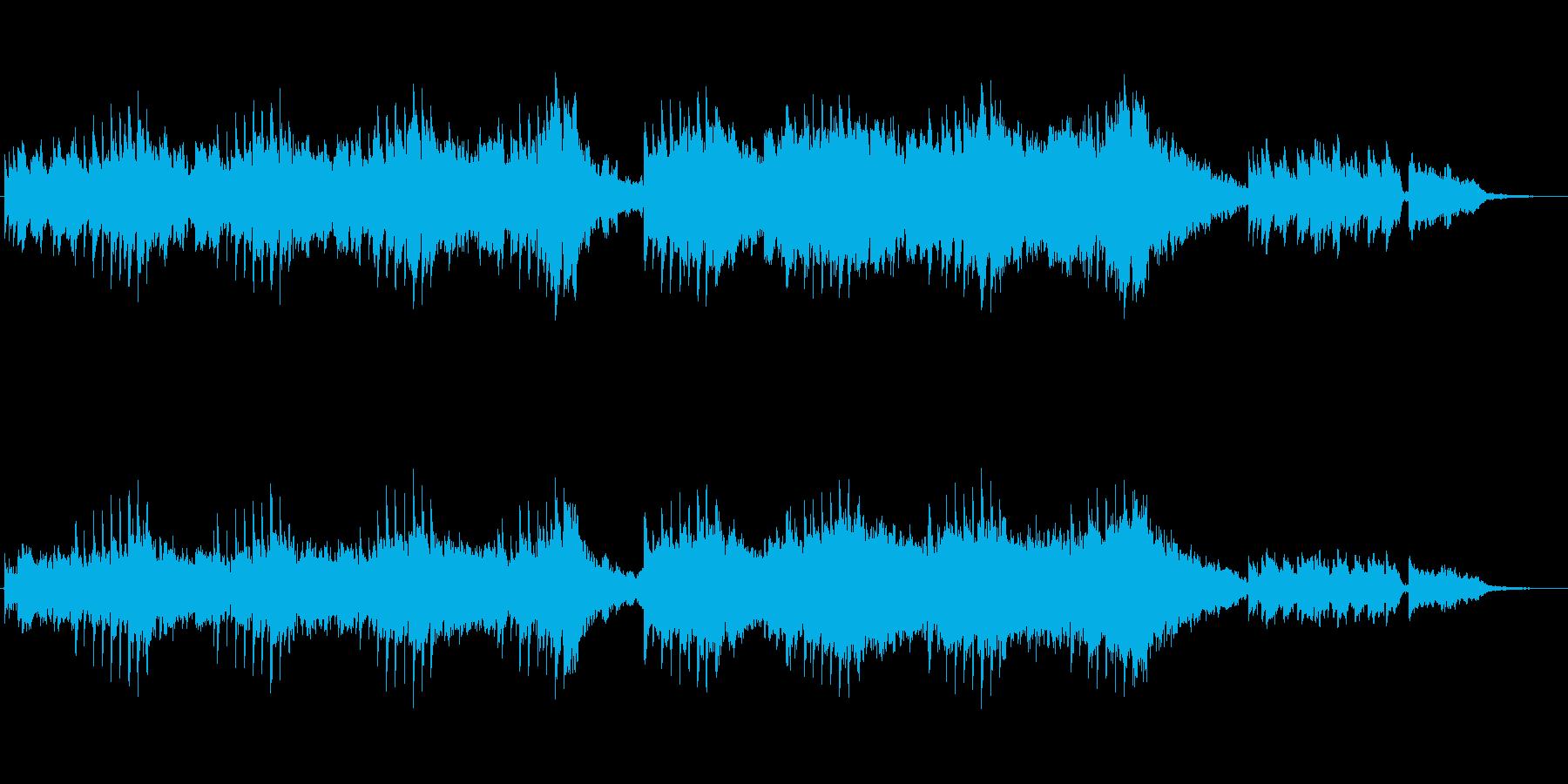 昔を思い出すノスタルジックなアンビエントの再生済みの波形