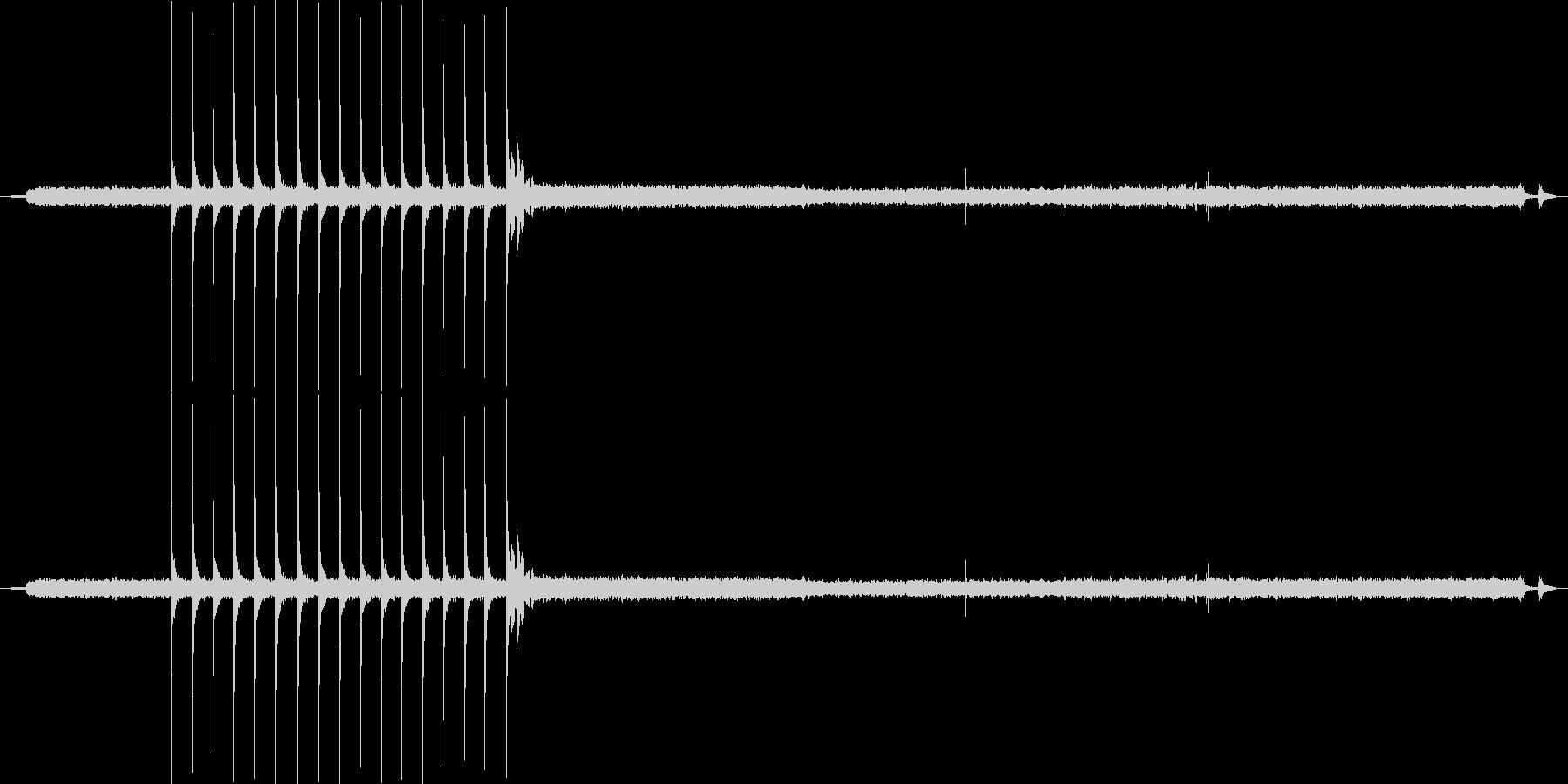 家庭 ガスストーブホブ点火闘争01の未再生の波形