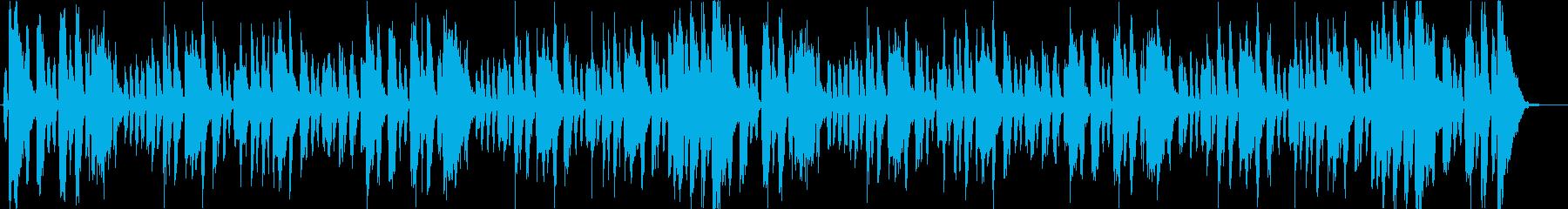 トランペットのファンキーなジングルの再生済みの波形