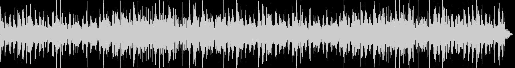 アンティークで寂しいチェレスタ曲の未再生の波形