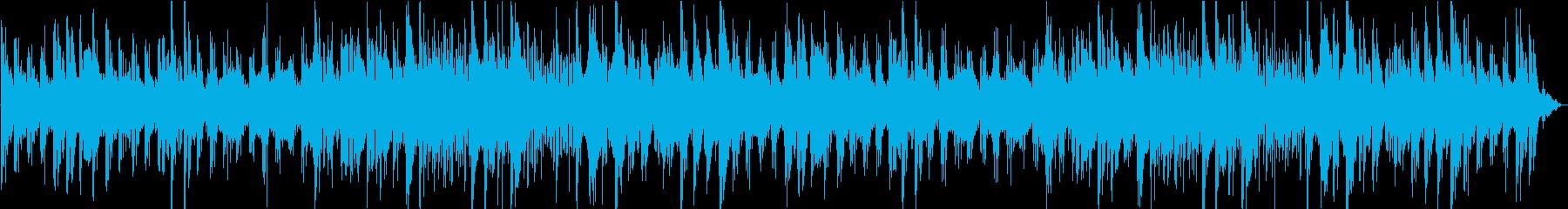 アンティークで寂しいチェレスタ曲の再生済みの波形
