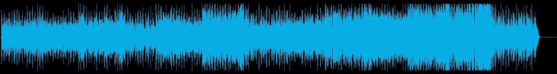 緑が燃える季節のボサノバの再生済みの波形