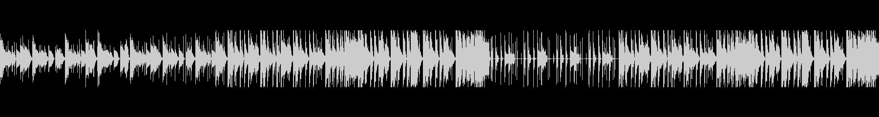 【ループ音源】ピコピコ/カワイイの未再生の波形