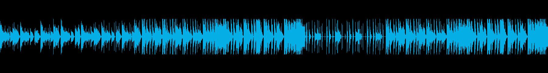 【ループ音源】ピコピコ/カワイイの再生済みの波形