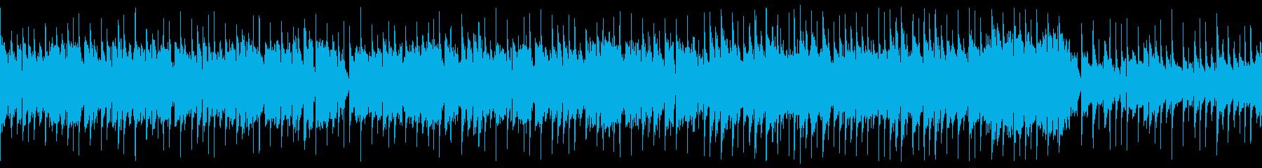 里山や晴天、清涼感ある和風ポップ(ループの再生済みの波形