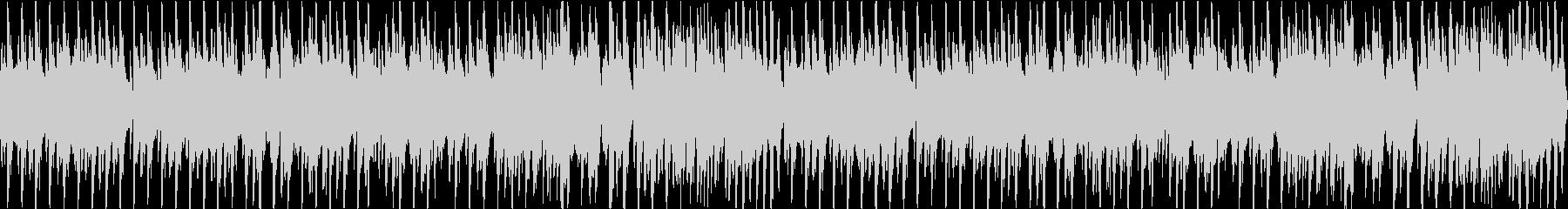 ほのぼのとしたオーケストラBGMループ可の未再生の波形