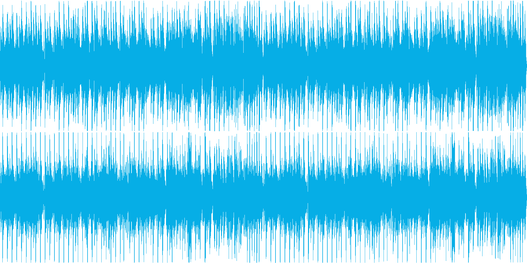 ほのぼのとしたオーケストラBGMループ可の再生済みの波形