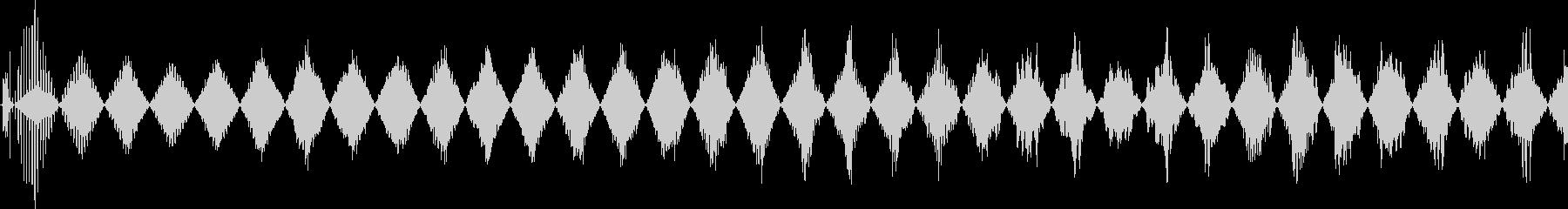 高トリリングパワーアップの未再生の波形