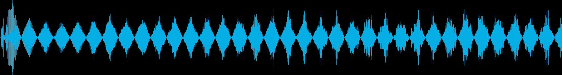 高トリリングパワーアップの再生済みの波形