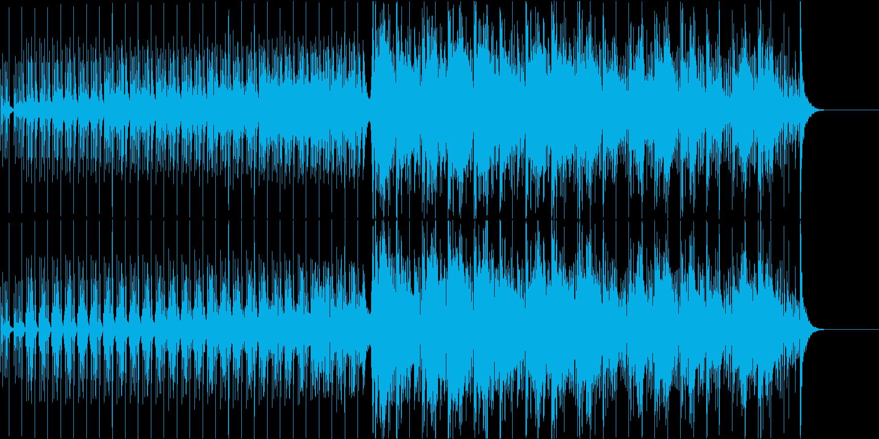 【生演奏】ヴァイオリン多重録音ミニマル!の再生済みの波形