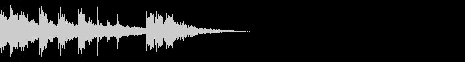 和風エフェクト_その2の未再生の波形