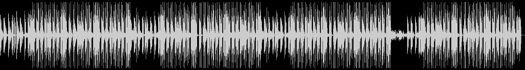 シンセを使ったユーモラスな雰囲気のBGMの未再生の波形