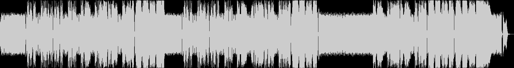 架空のアニメ「炎上肉魂ヒーマン」主題歌の未再生の波形