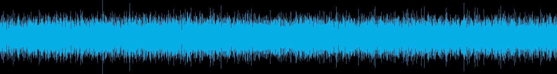SunaArashi TVの砂嵐 4の再生済みの波形