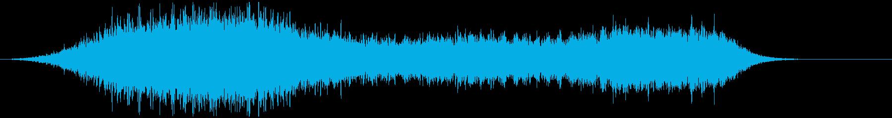 レトロホラー系の雰囲気SFXの再生済みの波形