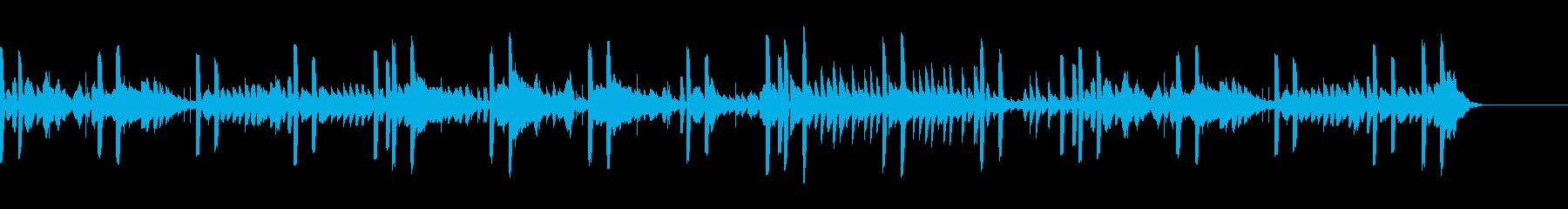 電気楽器。刺激的なハイテク技術のテ...の再生済みの波形