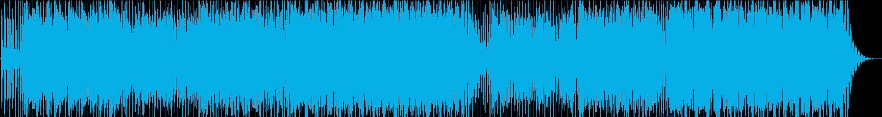 懐かしい雰囲気のローファイハウスの再生済みの波形