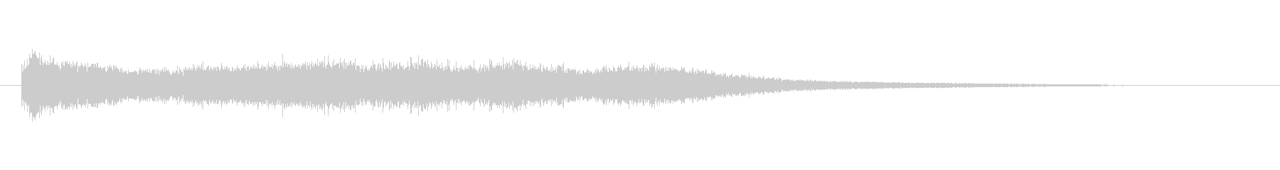 ゴング大ロール-ローリングゴング-...の未再生の波形