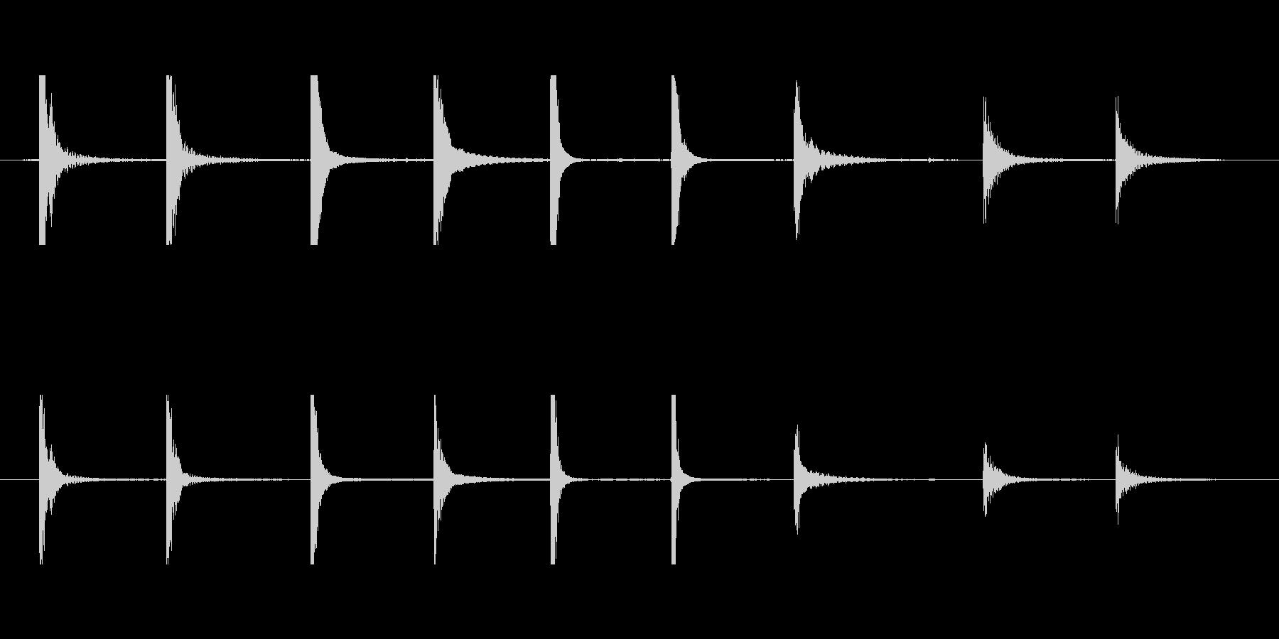 金属クランクパイプ低クラスターcの未再生の波形