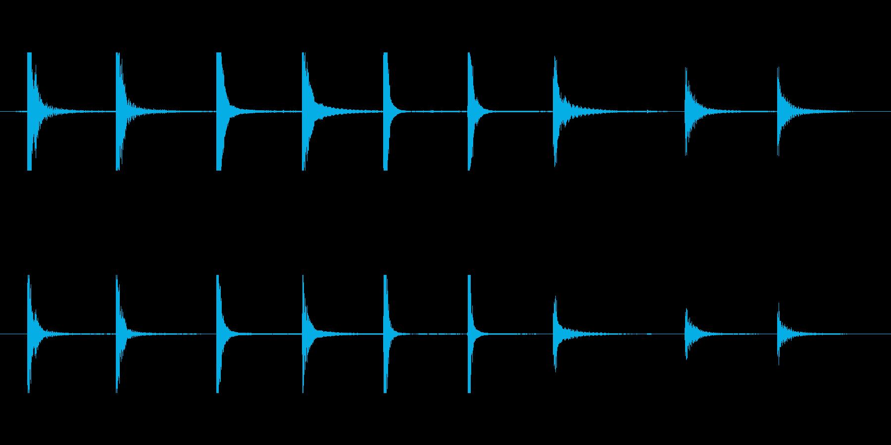 金属クランクパイプ低クラスターcの再生済みの波形