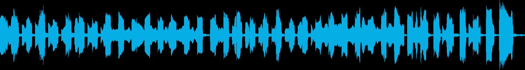 のんびりかわいい感じ/ループ/オルガンの再生済みの波形