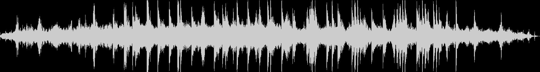 ディストピア感近未来感あるピアノBGMの未再生の波形