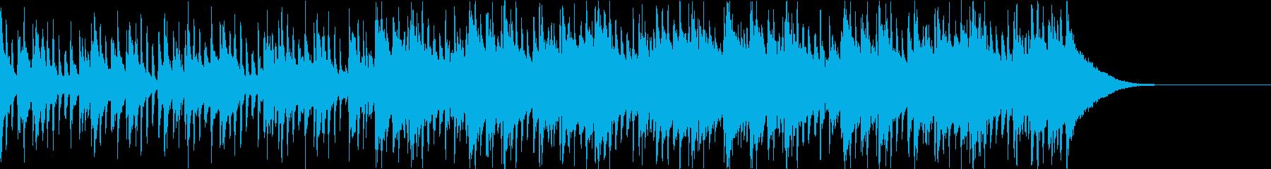 Pf「唐突」和風現代ジャズの再生済みの波形