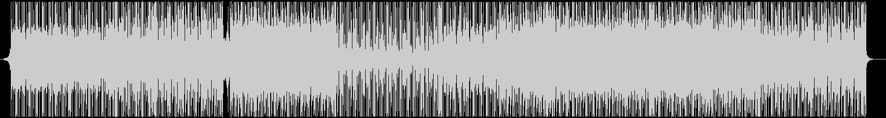 明るく前進感のあるエレキギターシンセの未再生の波形