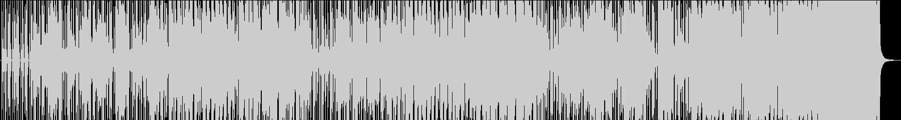 サックスメロディ、ヒップホップ風R&Bの未再生の波形