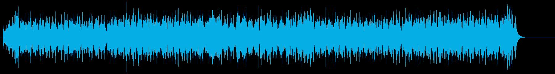 ちょっと明るめのリフレイン・ポップスの再生済みの波形