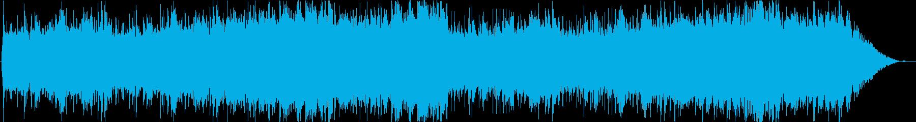 セーブポイント、夜明け、静けさ、キラキラの再生済みの波形