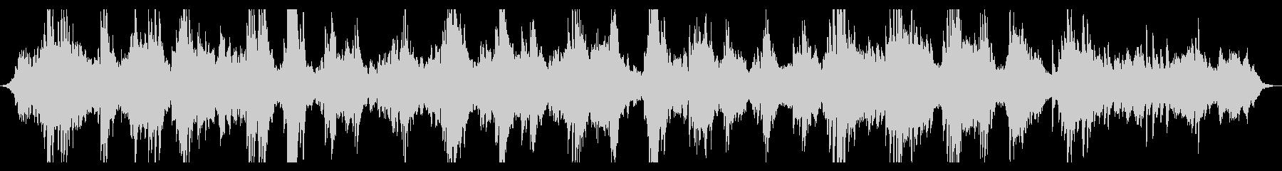 静謐・神秘的 ピアノのヒーリングBGMの未再生の波形