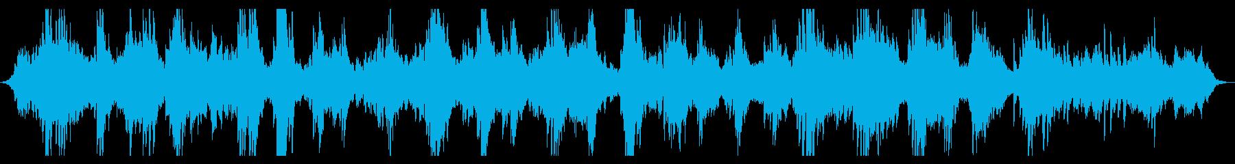 静謐・神秘的 ピアノのヒーリングBGMの再生済みの波形