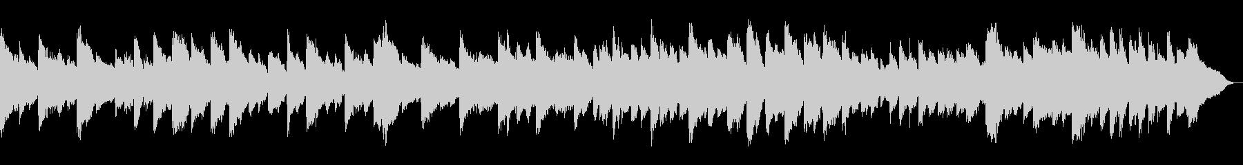 心が安らぐ有名クラシック lofiピアノの未再生の波形