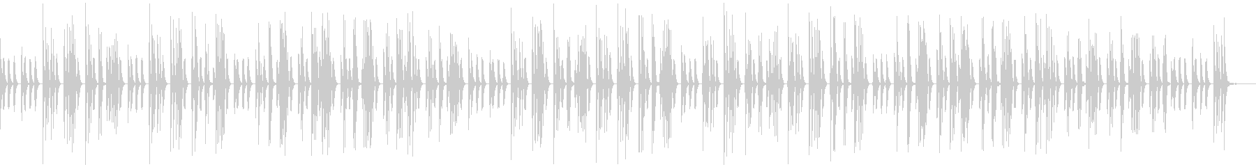ゆるっとほのぼの日常系、素朴な音色、自然の未再生の波形