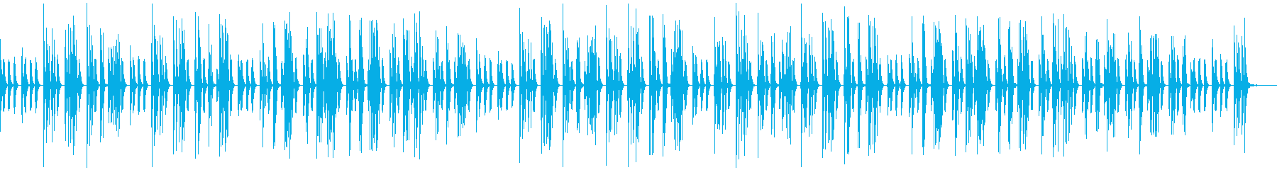 ゆるっとほのぼの日常系、素朴な音色、自然の再生済みの波形