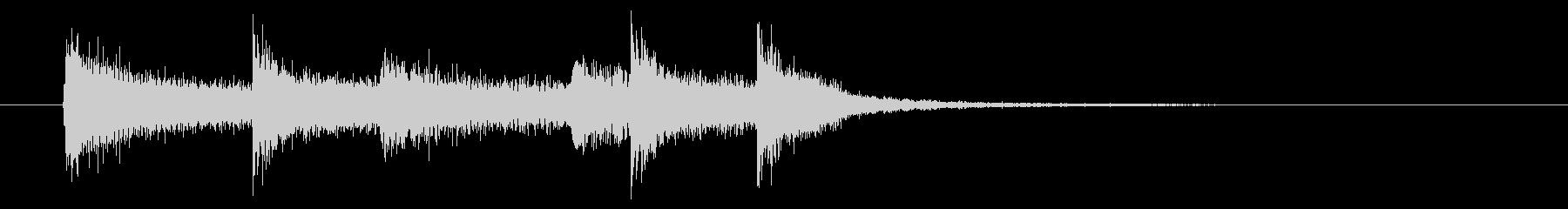 ロック・サウンドロゴ・ストンプ・クラップの未再生の波形