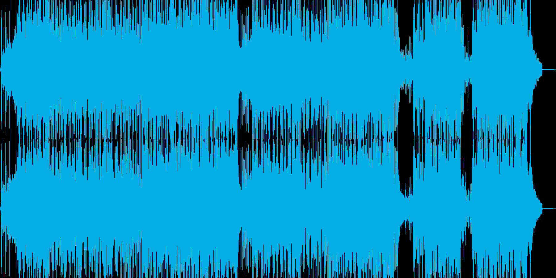疾走感溢れるビートの再生済みの波形