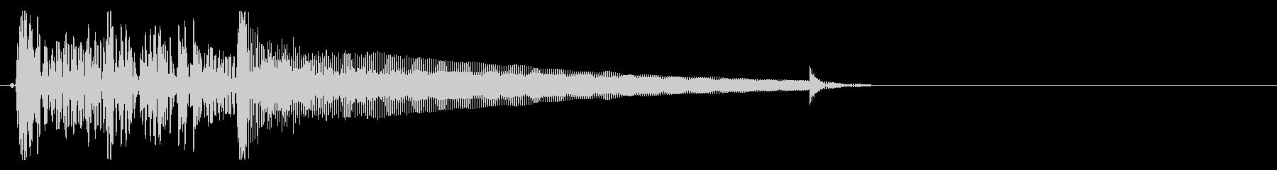 アップライトベース 部場面切り替え3の未再生の波形