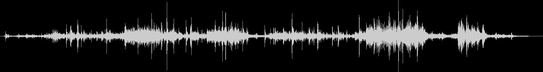 【生録音】ゴミの音 2 かき分けるの未再生の波形