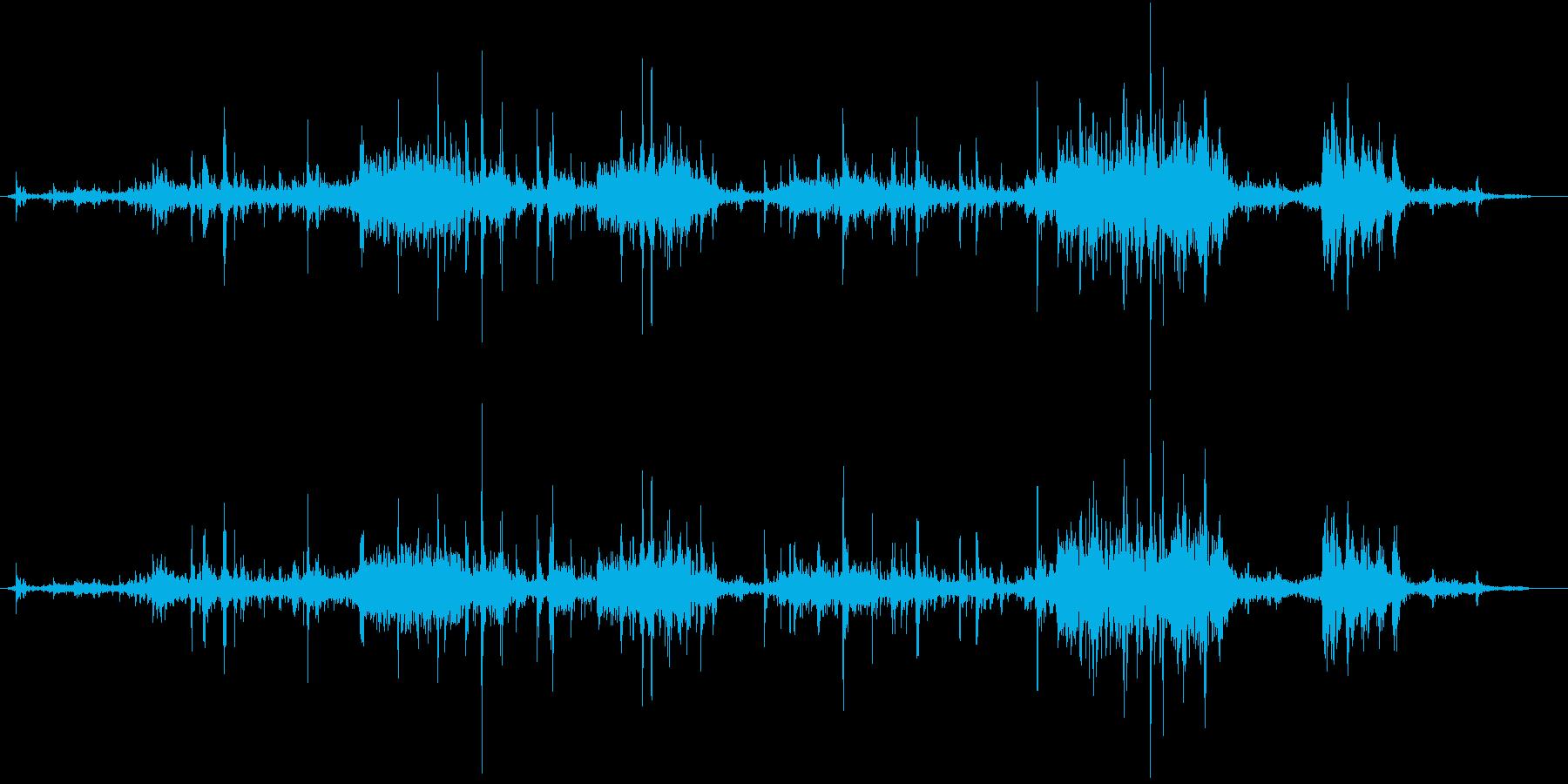 【生録音】ゴミの音 2 かき分けるの再生済みの波形