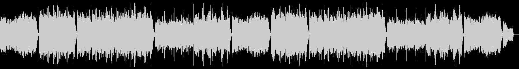 優しく落ち着くピアノポップ:フルx2の未再生の波形