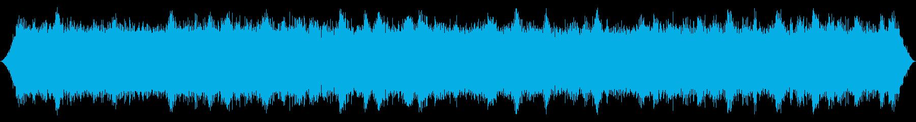 森か山の風:重い厚い鈍いRoきの突...の再生済みの波形